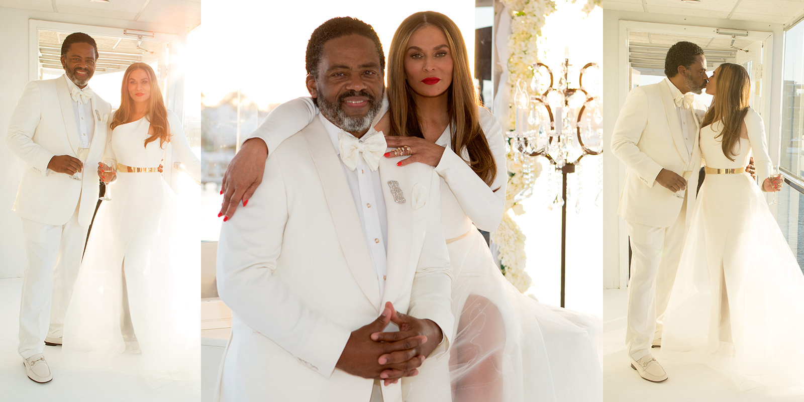 beyonce�s mom tina knowles ties the knot in ya ear hip hop